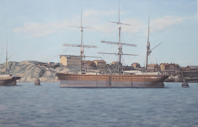 Seglare - Lindholmen Skatberget Hisingen 1870 - Klicka för att byta till perspektivbild.
