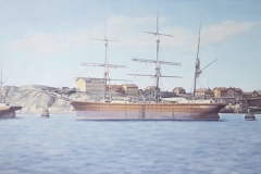 Seglare - Lindholmen Skatberget Hisingen 1870