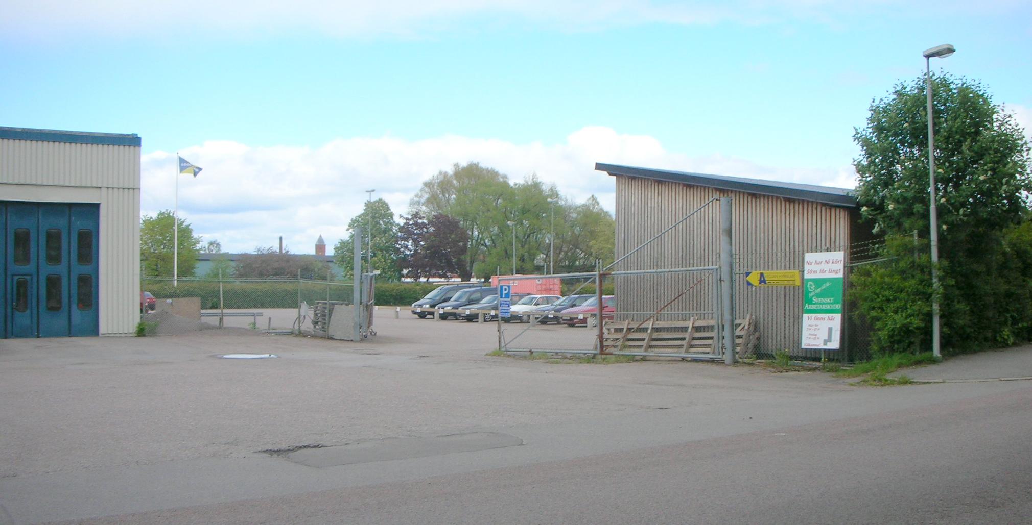 Barrack parkering