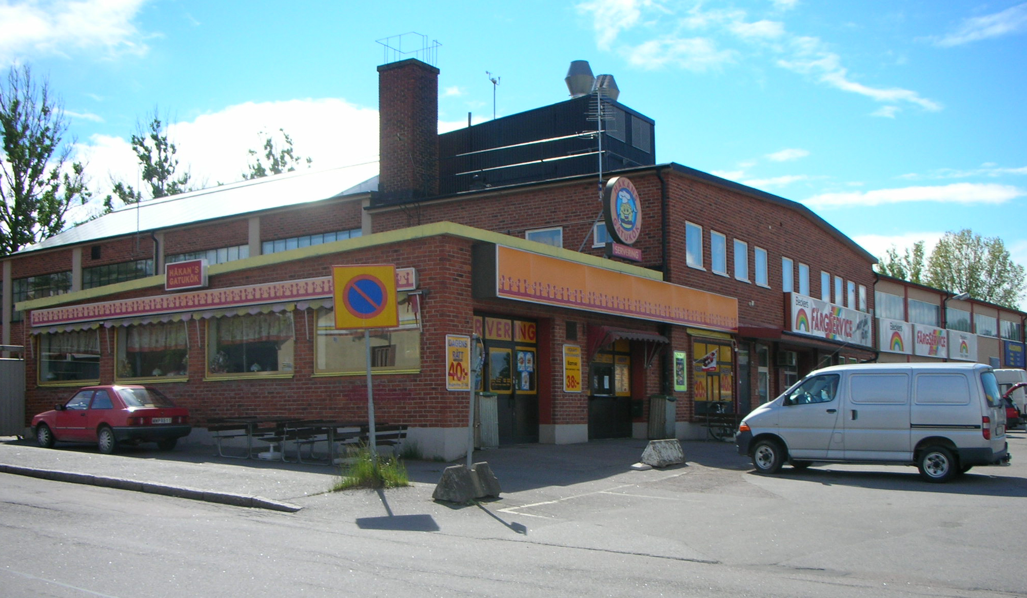 Hörnet Gesällgatan - Industrigatan
