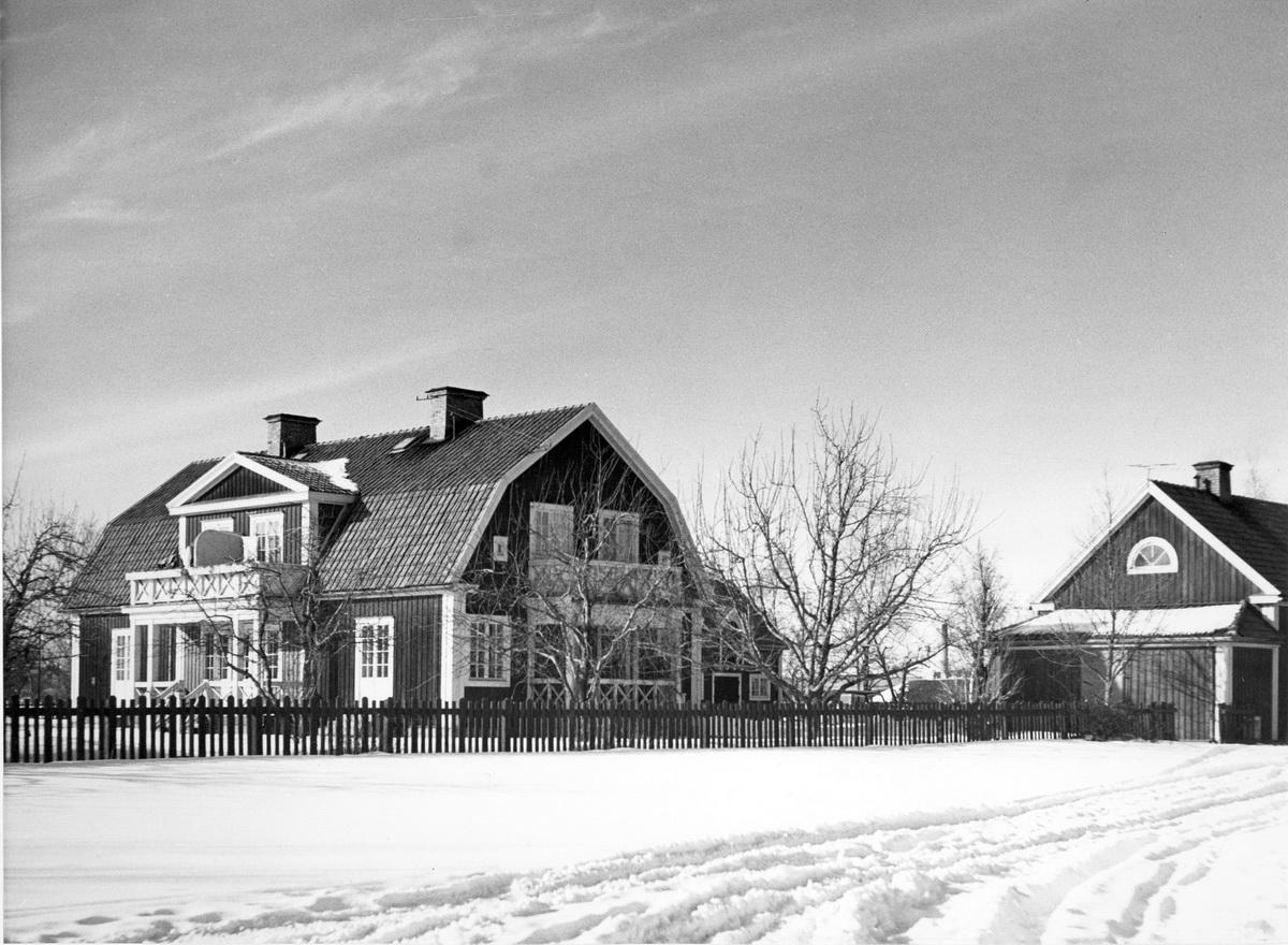 Stallgården på vintern