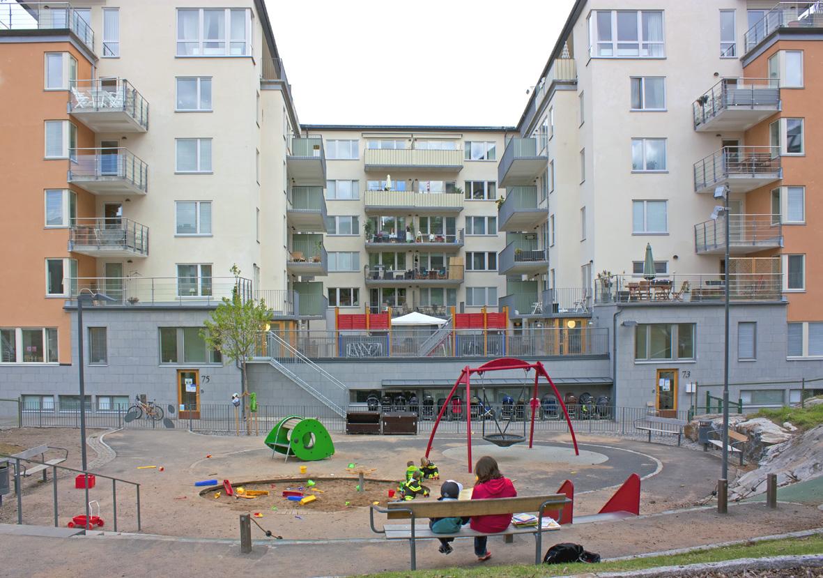 Förskolan Kojan_lekplats1